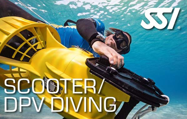 SSI Scooter/DPV Diving