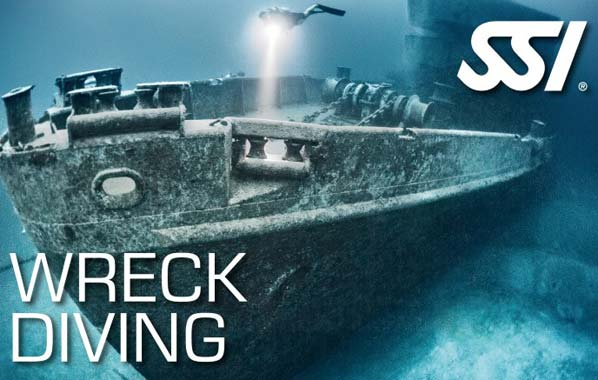 SSI Wreck Diving, Wrakduiken